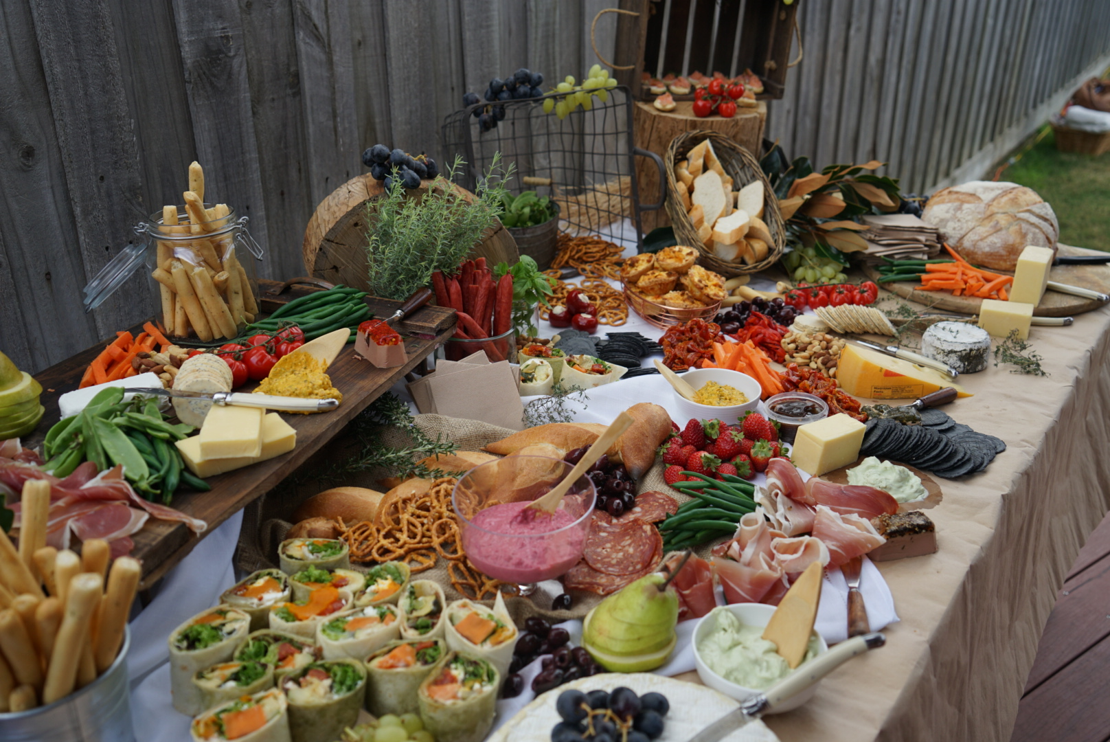 A Light Grazing Table